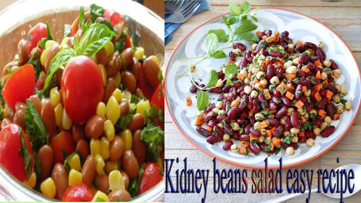 Weight Loss Salad Recipe For Dinner - How To Lose Weight Fast With  Salad-Indian kidney beans salad