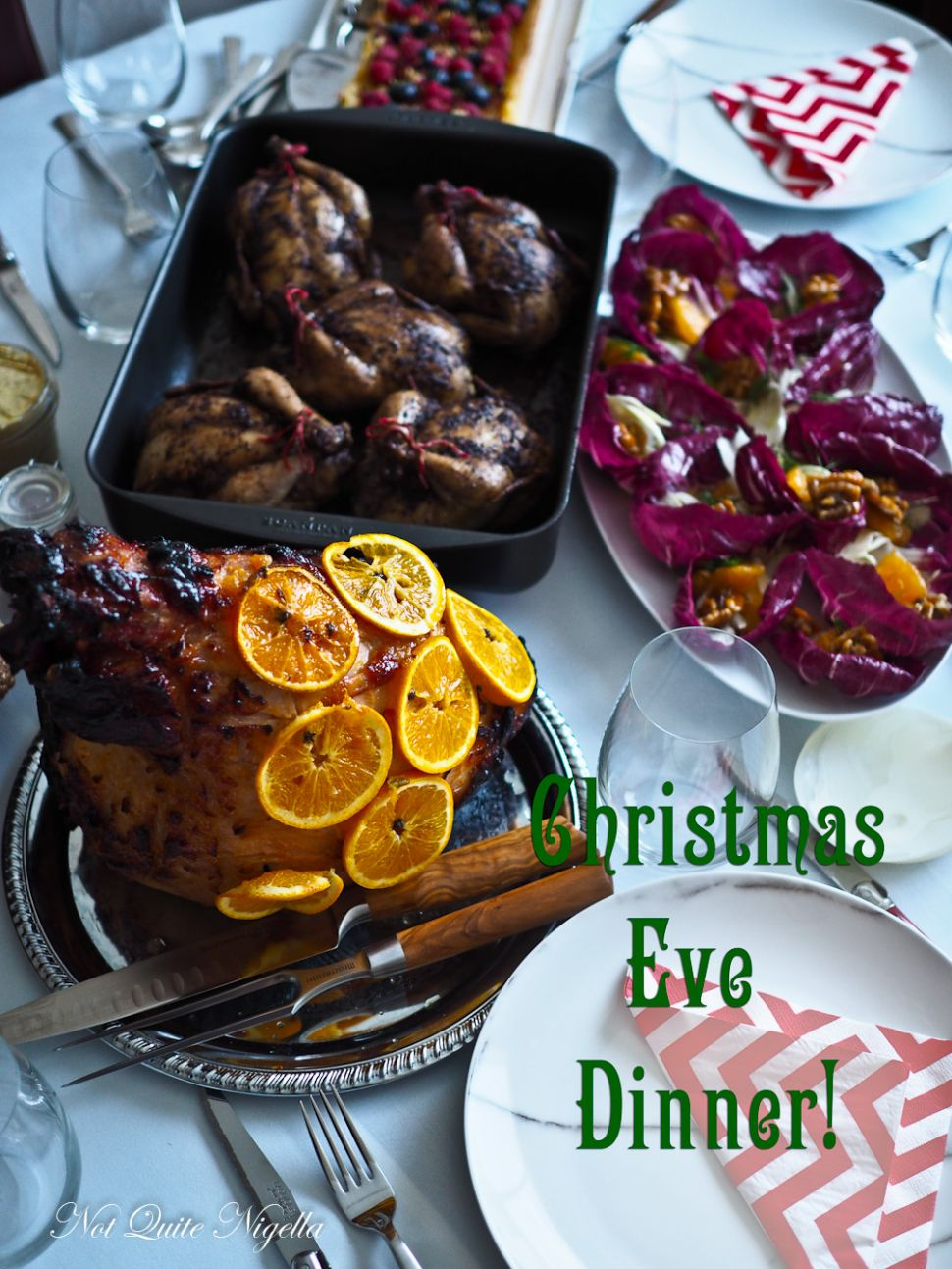 Welcome to Christmas Eve Dinner At Our Place! - Dinner Recipes Nigella