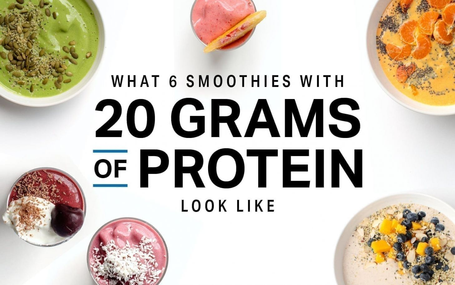 What 10 Smoothies With 10 Grams of Protein Look Like | Weight Loss ..