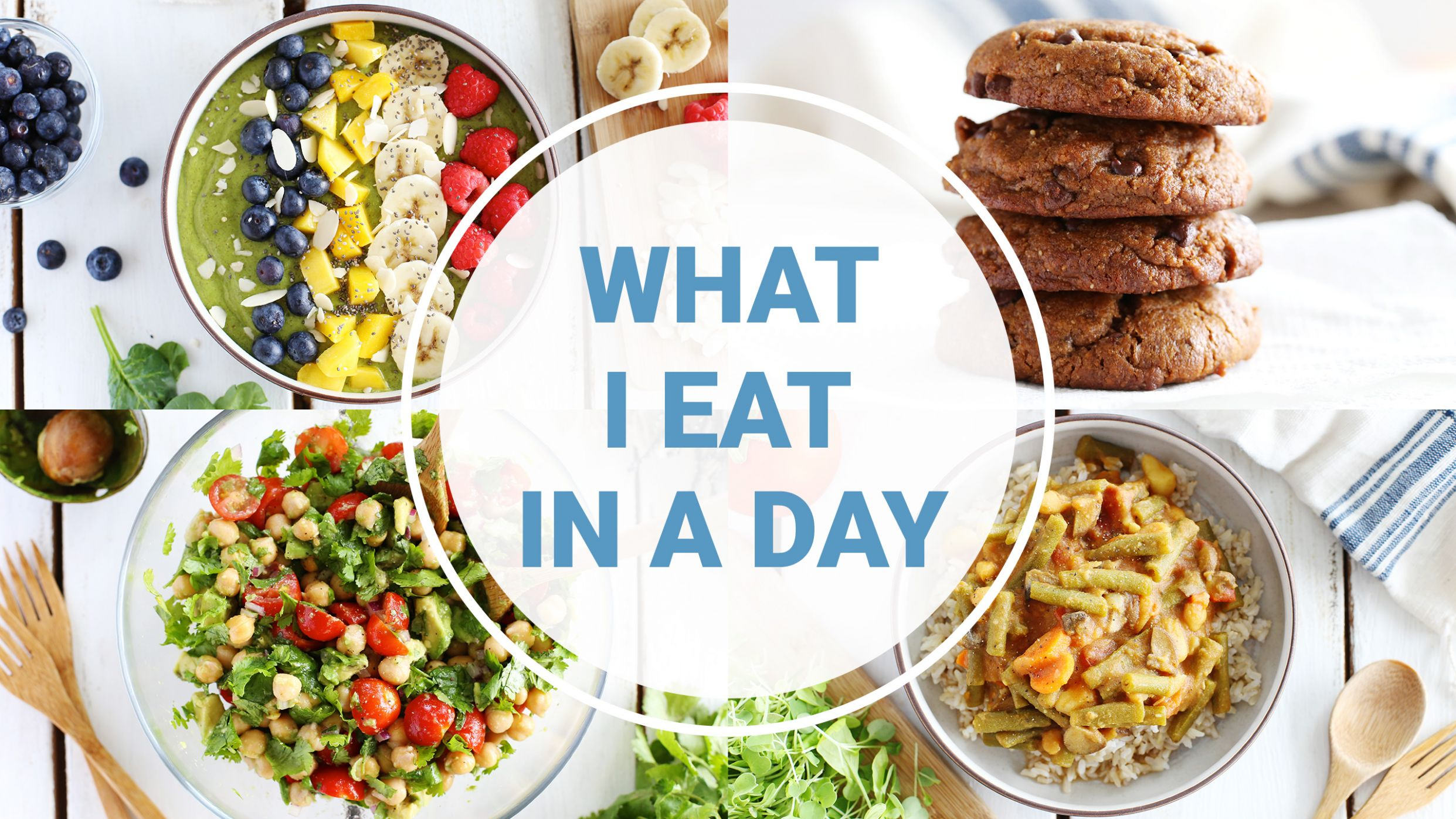 What I Eat In A Day | High Protein Vegan Recipes - Recipes Vegetarian Protein