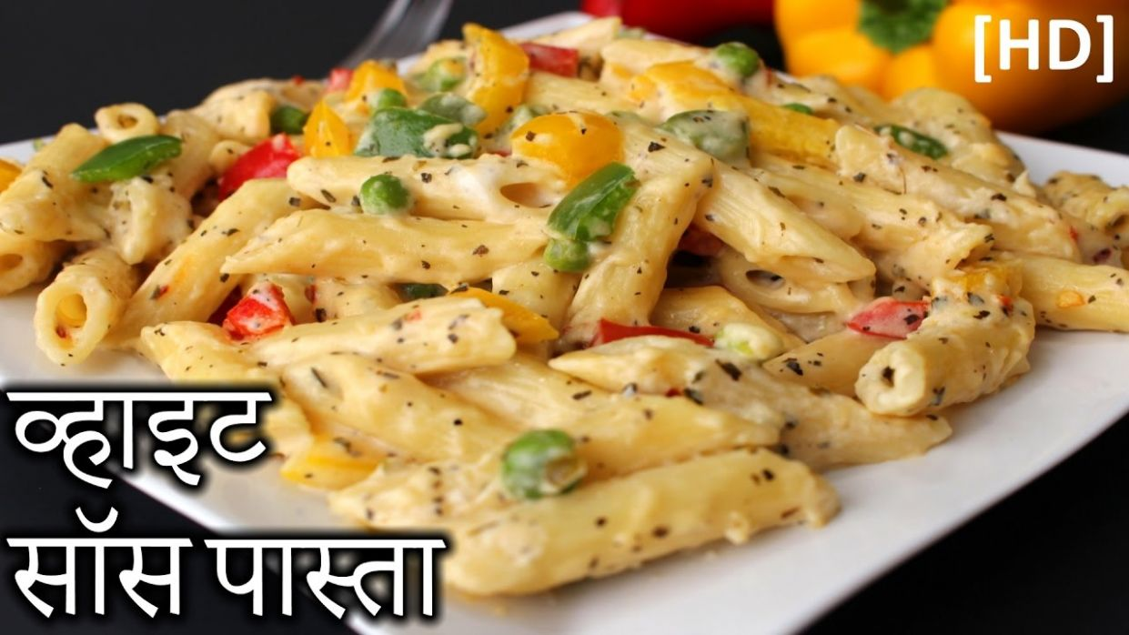 White Sauce Pasta in HINDI | Easy White Sauce Pasta Recipe | How to Make  White Sauce Pasta in Hindi