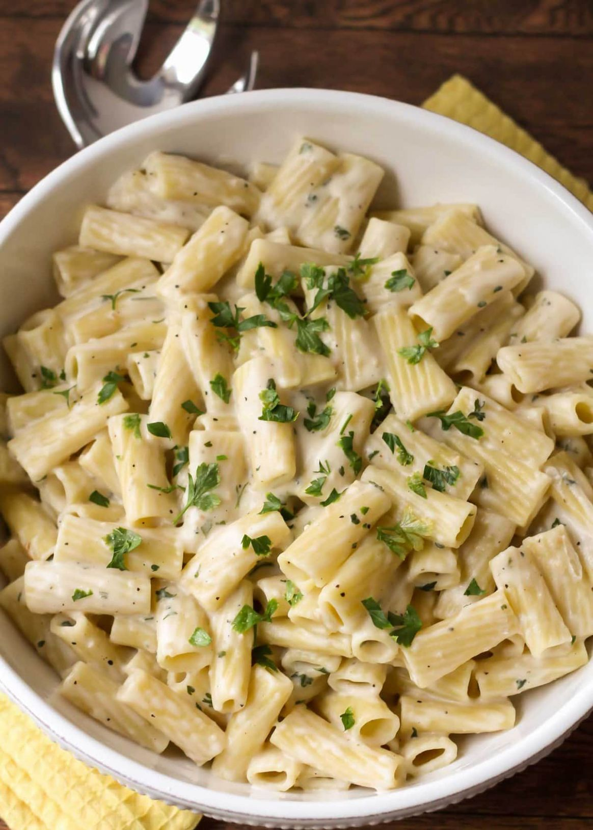 White Sauce Pasta Recipe - Recipes Of Pasta Dishes