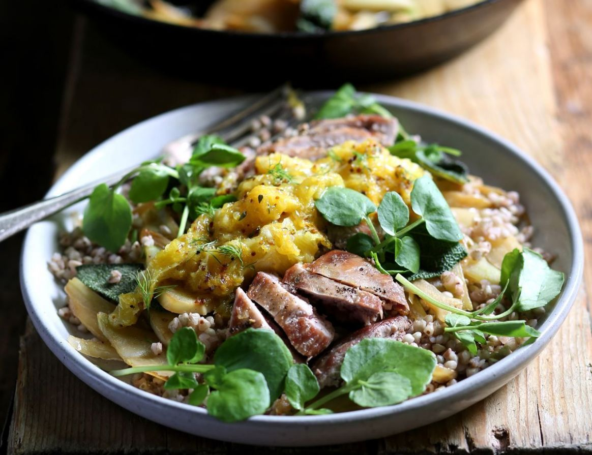 Wild Partridge Breasts with Orange & Thyme Sauce - Healthy Recipes Coles