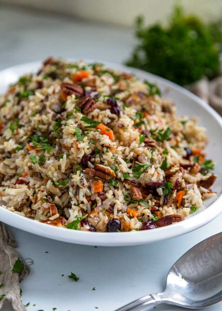 Wild Rice Pilaf - Kevin Is Cooking