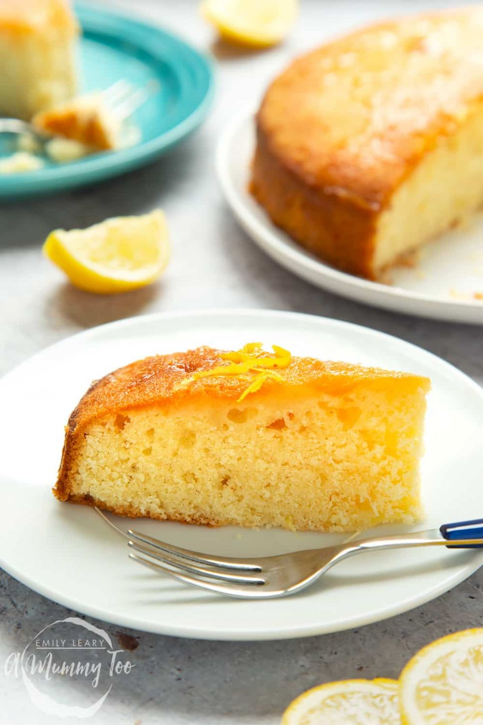 World's best lemon drizzle cake