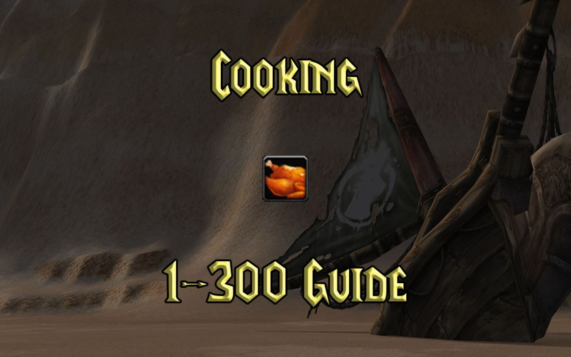 WoW Classic Cooking Guide 11-11 - Gnarly Guides - Recipes Cooking Tbc