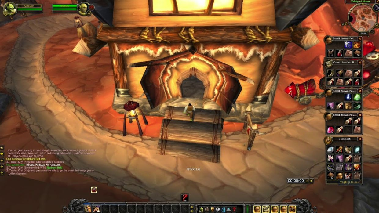WoW Classic Low Level Gold Making - Recipe Flipping in Orgrimmar