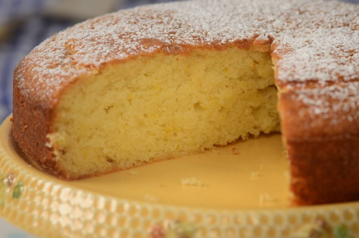 Yogurt Cake Recipe & Video