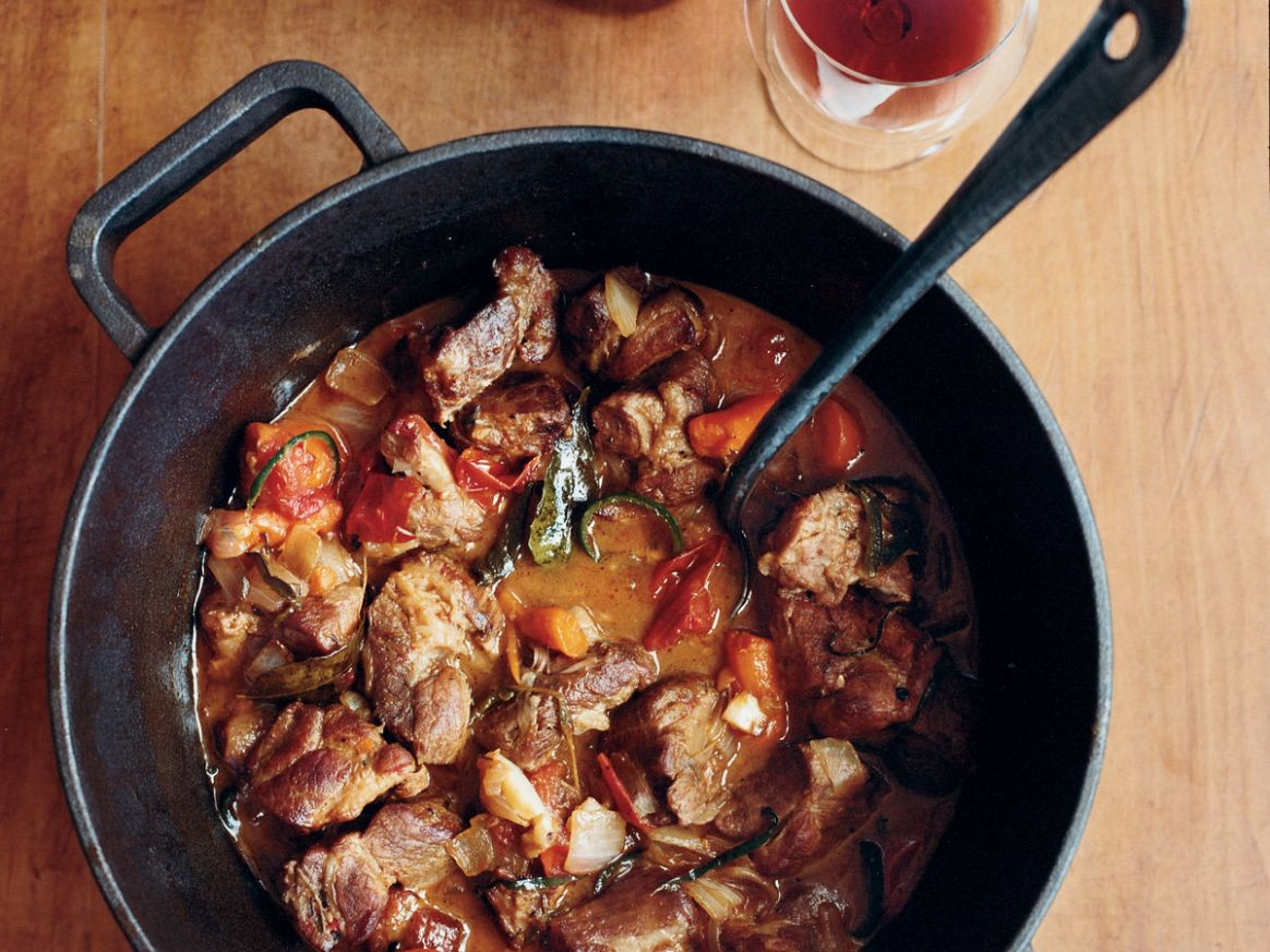 Yucatán Pork Stew with Ancho Chiles and Lime Juice