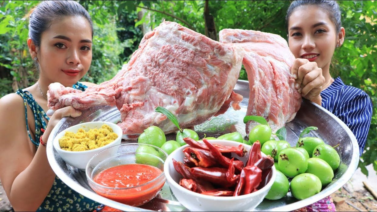 Yummy cooking curry ribs pork recipe - Cooking skill