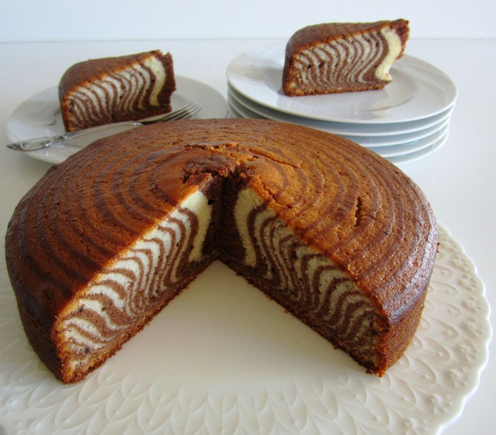 Zebra Cake - Cake Recipes Zebra