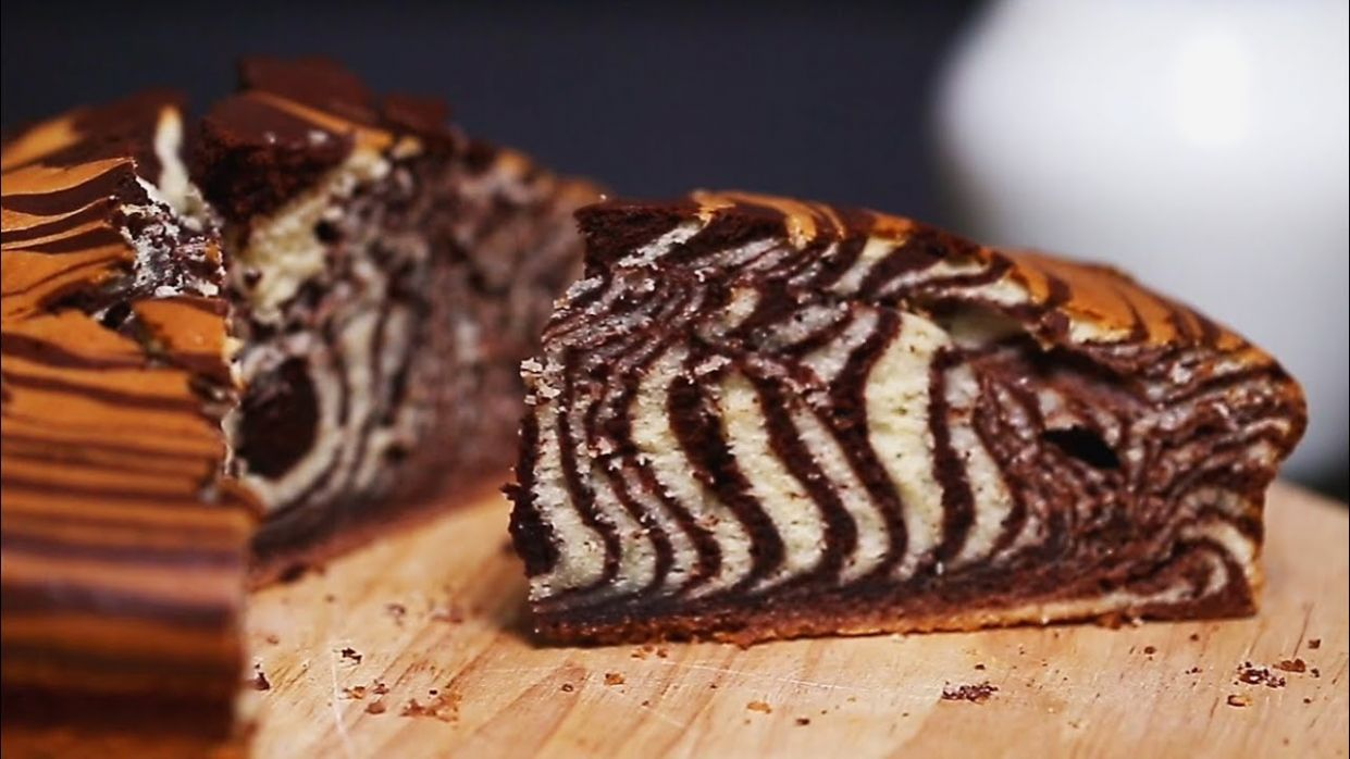 Zebra Cake Recipe - Cake Recipes Zebra