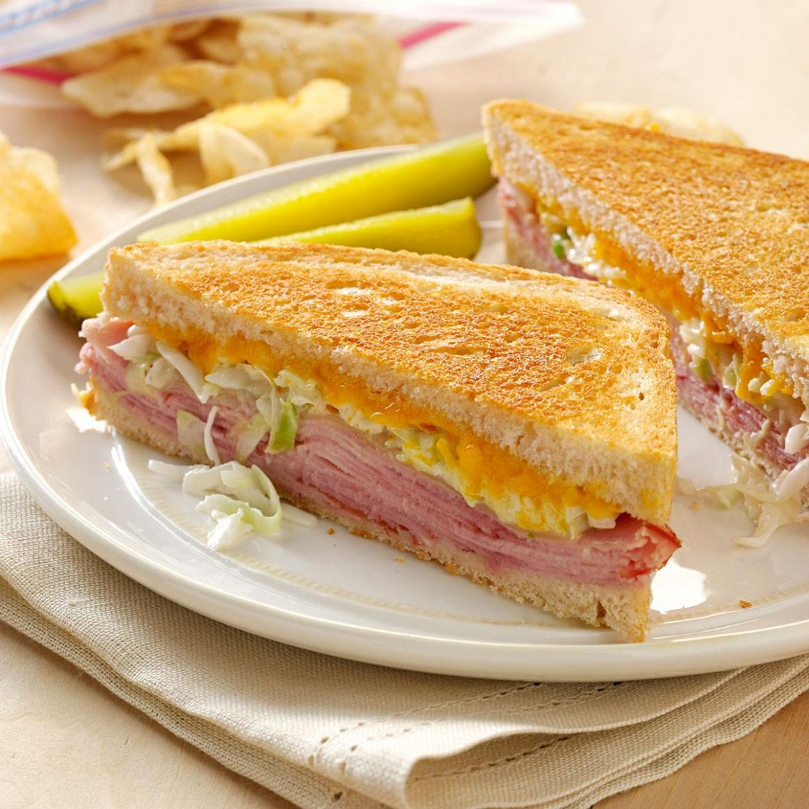 Zesty Grilled Sandwiches - Sandwich Recipes Grilled