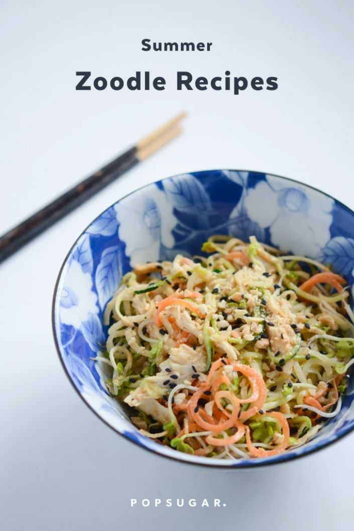 Zoodle Recipes For Summer | POPSUGAR Fitness - Summer Zoodle Recipes